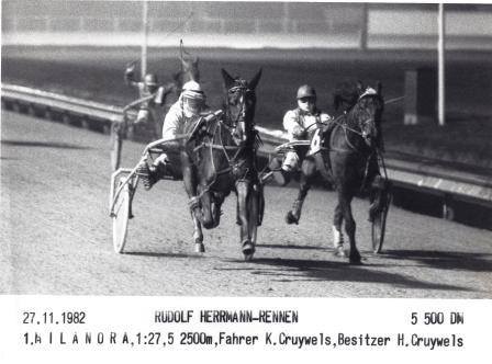 Karl Kruywels erster Sieg 1982